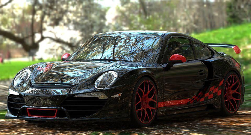 "AudiBoost - Anibal Automotive Design Porsche 991 ""Attack"" body kit - Too much or just right?"
