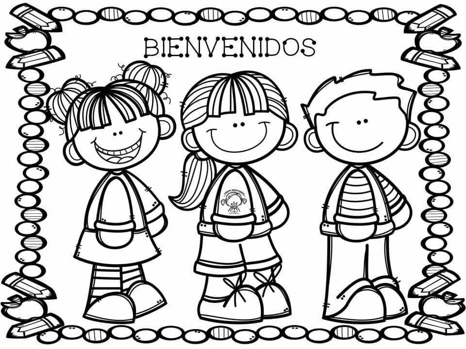 Bienvenidos Dibujitos Y Demás Dibujos Para Niños Bienvenido