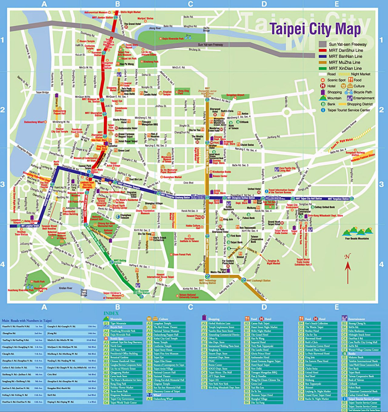 Image result for taipei map taiwan pinterest tourist map image result for taipei map taipei traveltourist maptaipei taiwancity sciox Images
