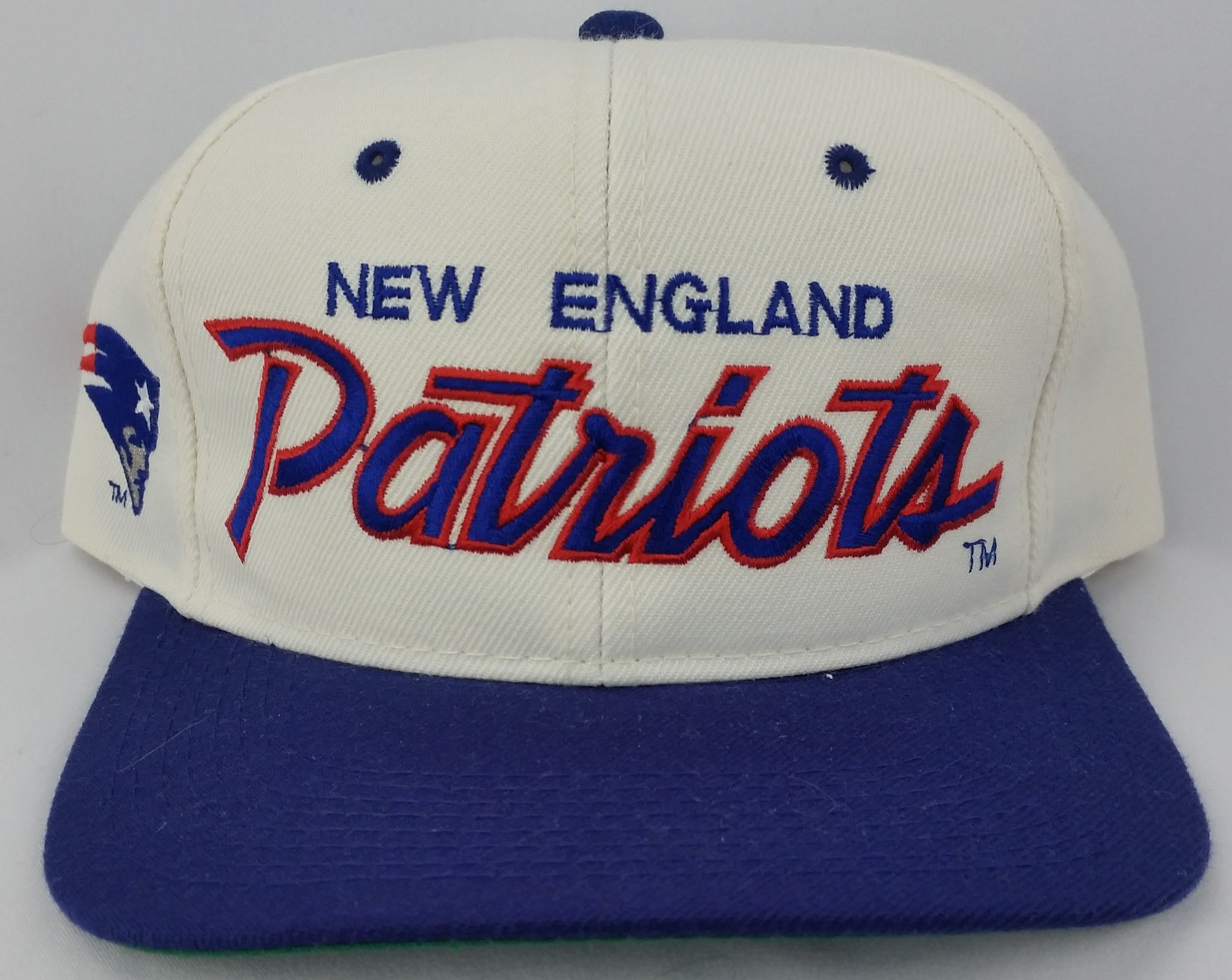 6f72a0606cb New England Patriots Vintage Snapback Sports Specialties Hat NFL Pro Line  Cap