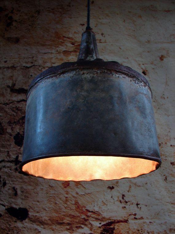 Lighting - Industrial Lighting - Funnel Hanging Lighting - Ceiling Light