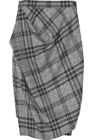 Vivienne Westwood Anglomania Philosophy Wool Plaid Skirt ...
