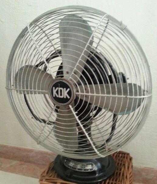 Antique Kdk Electric Fan Electric Fan Fan Antiques