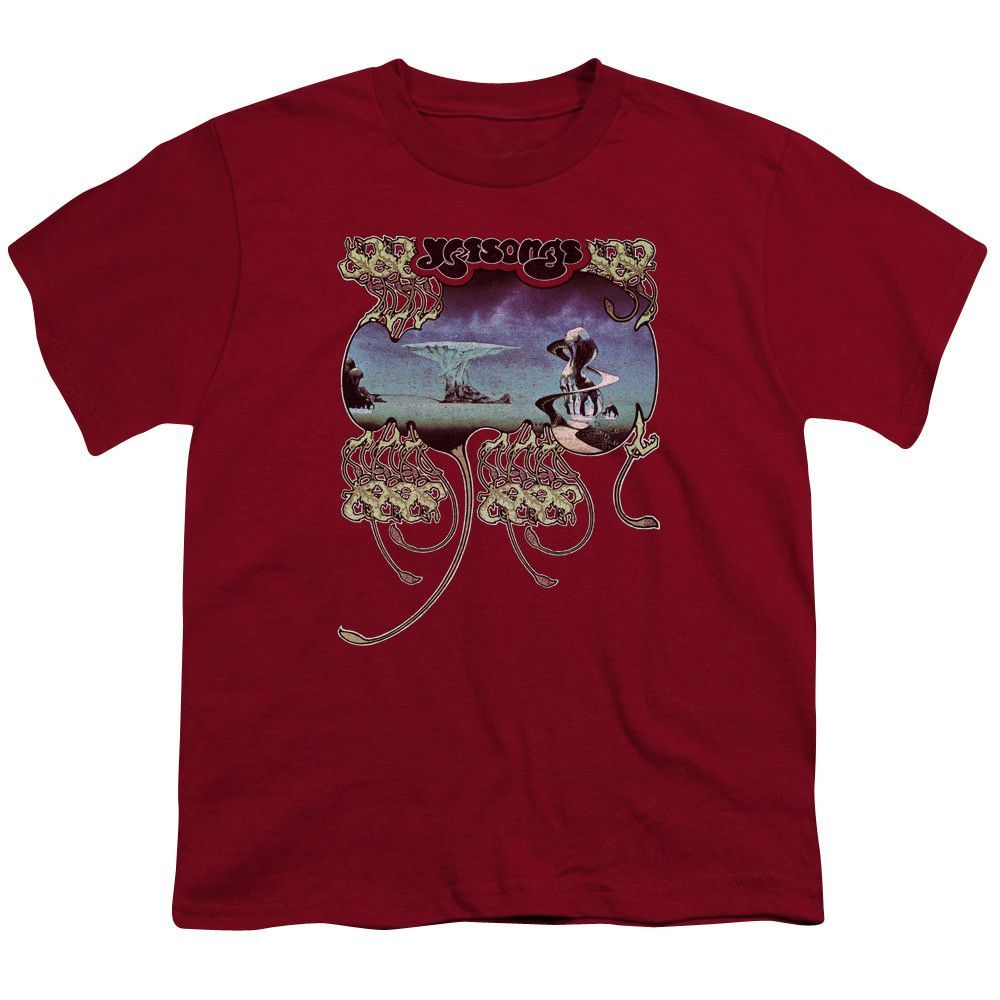Yes Yessongs Cardinal Youth T-Shirt