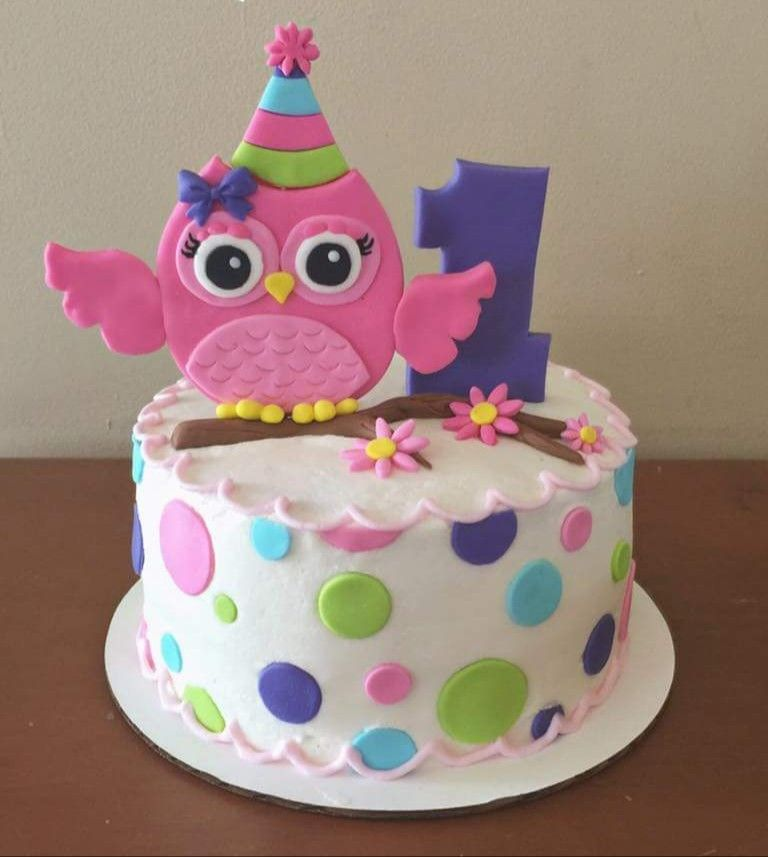 Owl Decorations For Birthday Cake Image Inspiration Of And Decoration