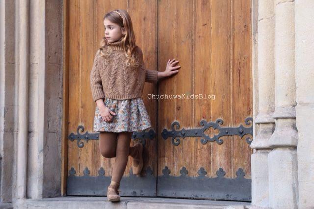 "Blog moda infantil: ⭐️""Lejos-Cerca""- Liberty y tabaco by Nanos Moda In..."