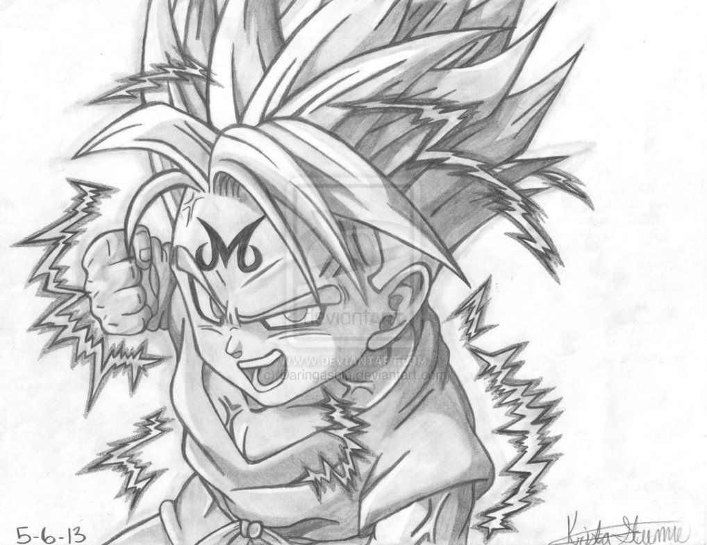 Majin Trunks Trunks Not The Clothes The Character
