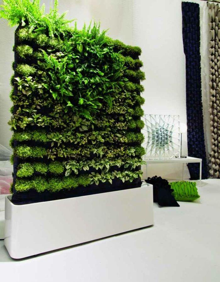 ▷ 1001 + idées déco originales pour un mur végétal intérieur S5