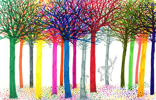 bambi trees and acid bees