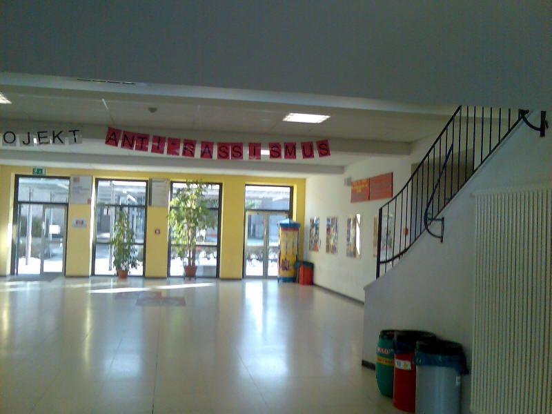 Main Floor Of Nuernberg American High School Class Of 1990