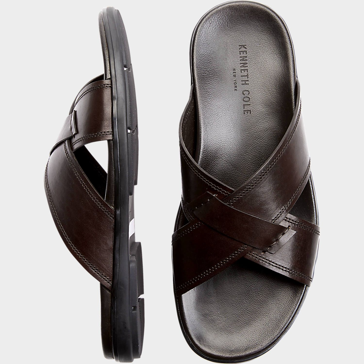 Kenneth Cole Lites Out Brown Sandals