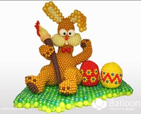 Easter balloon decor #easter-balloon decor #easter balloon sculpture #easter-balloon sculpture #easter balloon art  #easter-balloon art