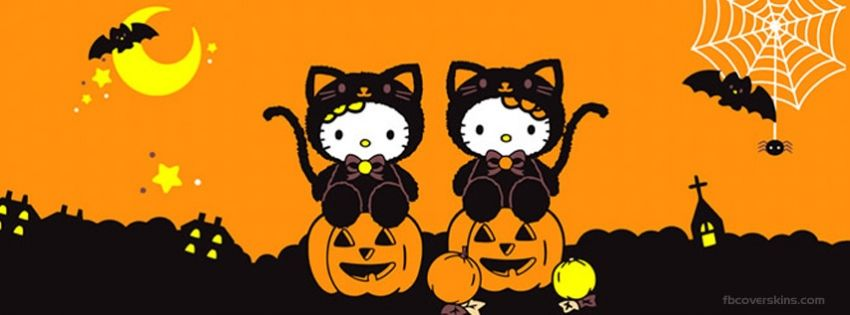 Pin by Vanessa Rodriguez on Facebook Timeline Covers Pinterest - hello kitty halloween decorations