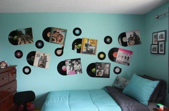 Schallplatten wanddeko wohn design - Schallplatten wand ...