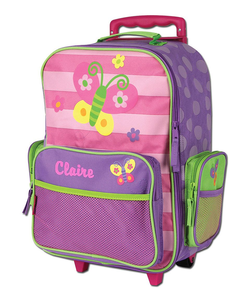 Butterfly Personalized Rolling Luggage