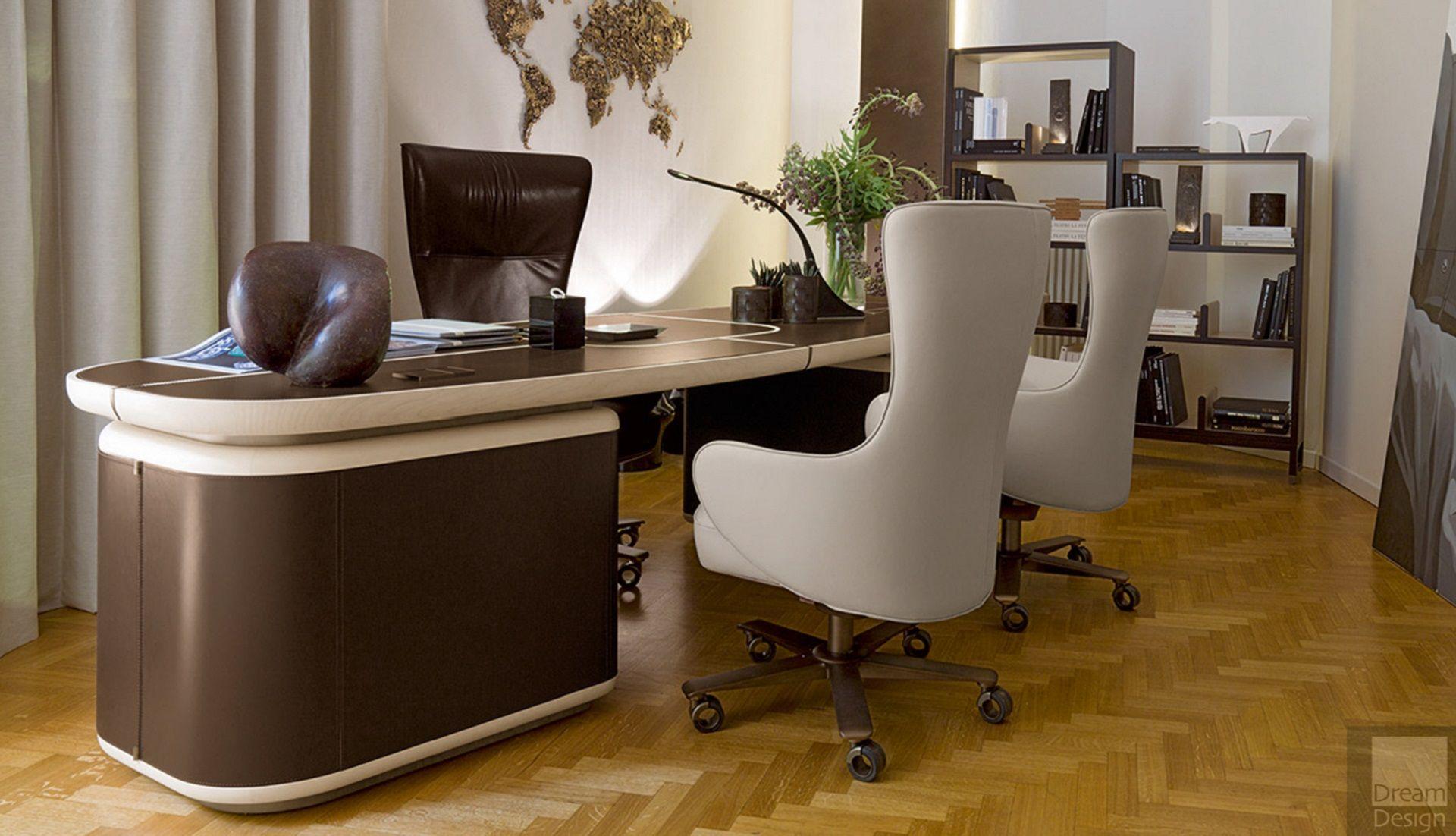 Tycoon Desk Furniture, Geometric decor, Desk