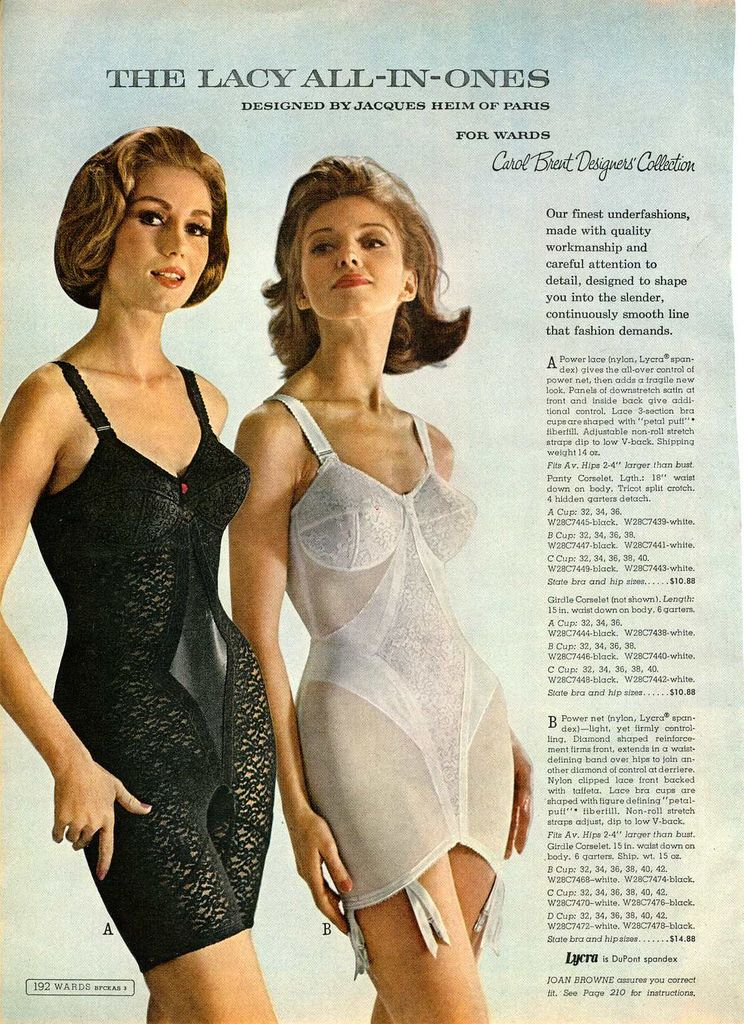 Girdle ads vintage