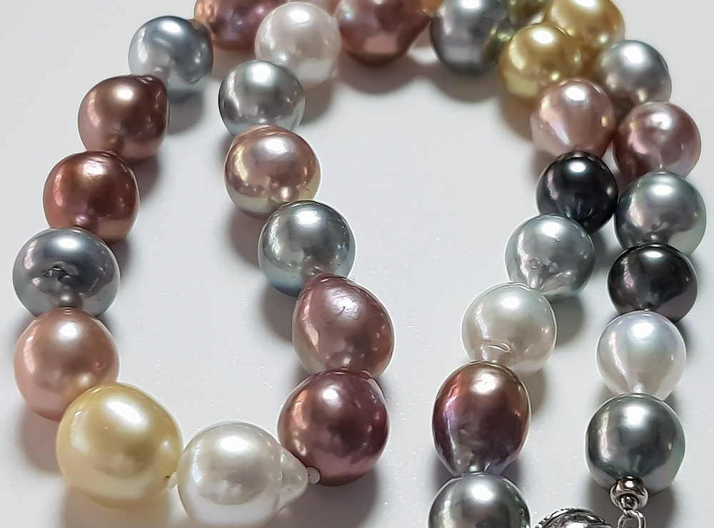 collier perle 12mm