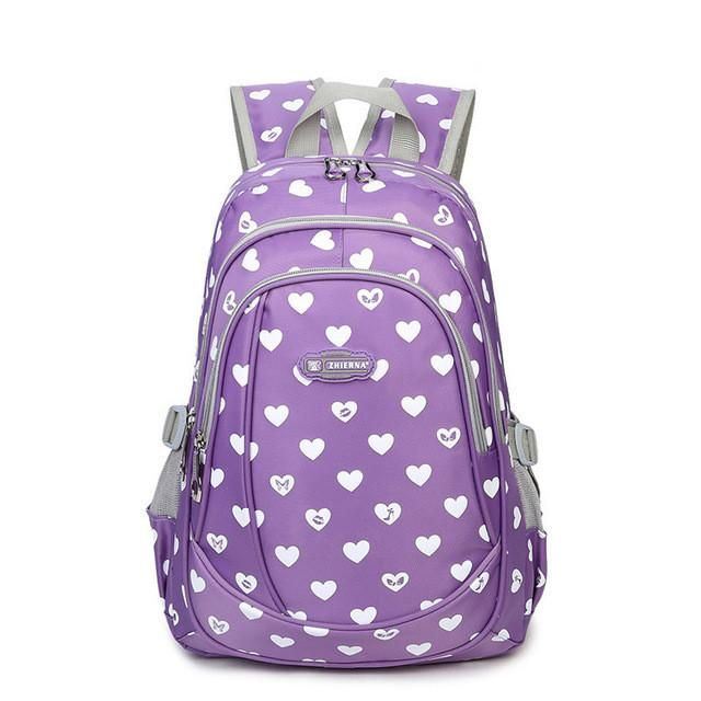 4231a639d10b8 Mochilas Para Niñas · New School Bags for Girls Brand Women Backpack Cheap  Shoulder Bag Wholesale Kids Backpacks Fashion Niños