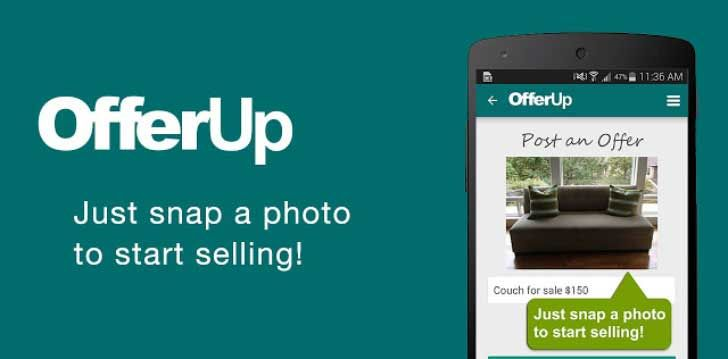 OfferUp Buy, Sell App Windows phone, Phone, Android apps