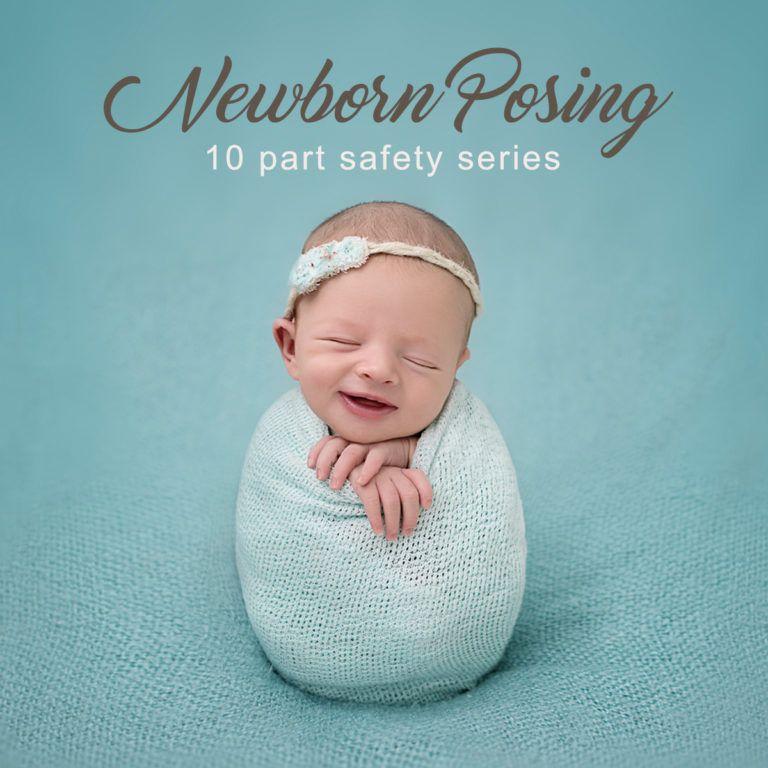 Studio posing essentials guidebook for newborn photographers