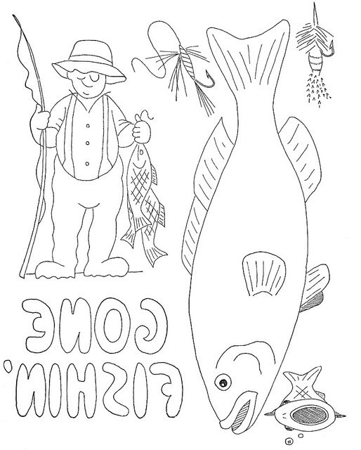 WB Fisherman motifs b | Pinterest | Bordado, Pintura de halloween y ...