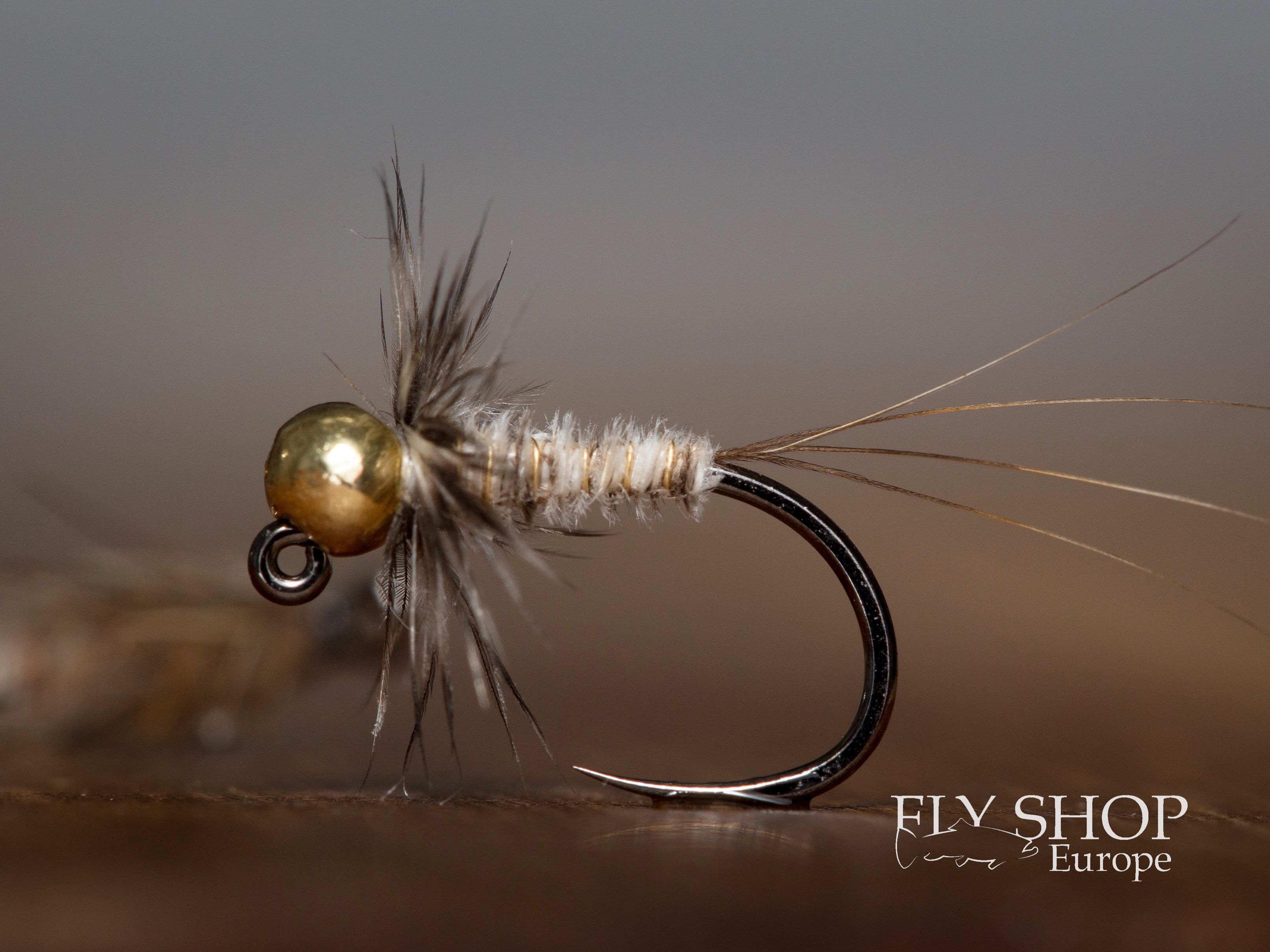 MARCH BROWN MAYFLY DRY FLY FISHING FLIES 12 x SIZE #14