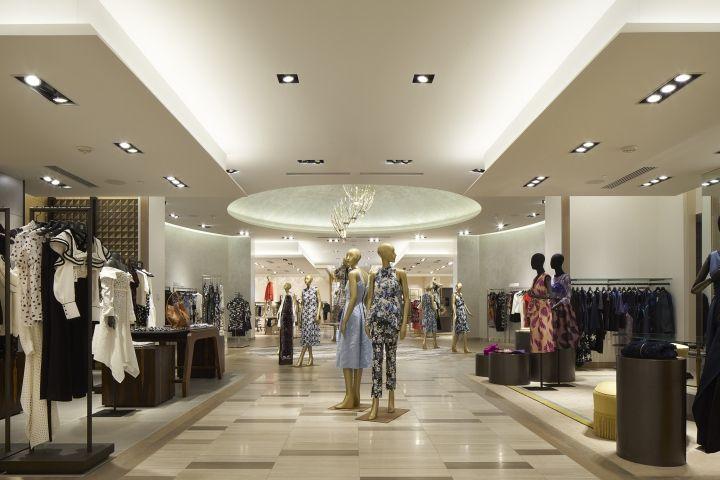 Saks Fifth Avenue Flagship Store By Cbx Houston Texas Retail Design Blog Retail Design Blog Design Store Design