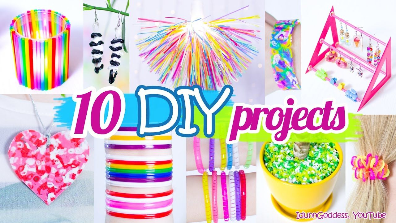 Pajas Youtube 10 diy projects with drinking straws – 10 new amazing