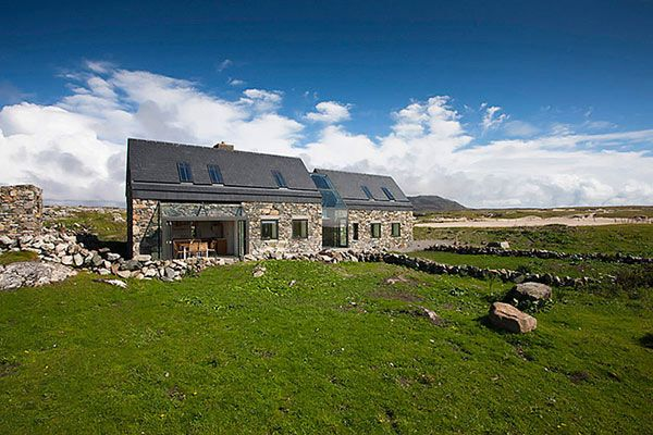 Modern Stone Cottage modern stone hut - contemporary cottage design - decoist