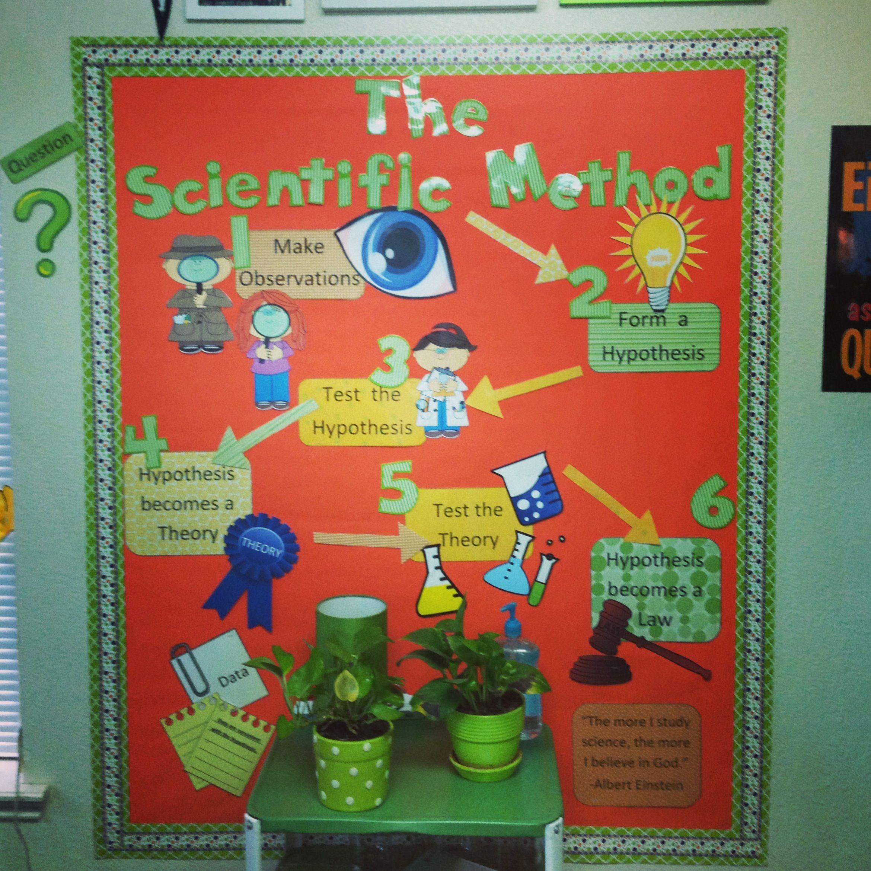 Scientific Method Bulletin Board Classroom Ideas