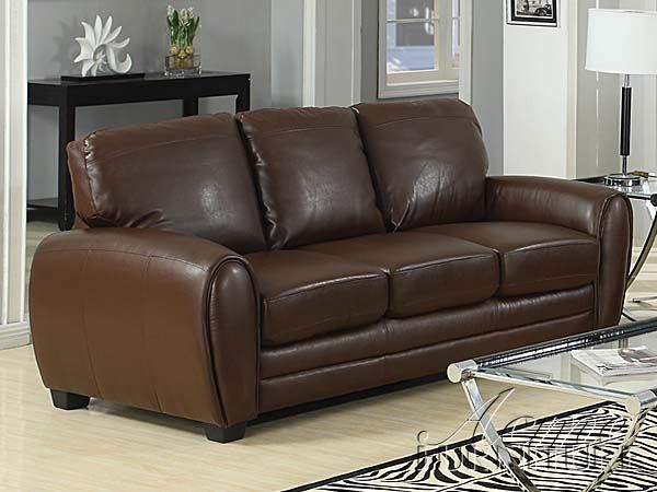 Prime Amber Brown Bonded Leather Sofa By Acme Furniture Acme Spiritservingveterans Wood Chair Design Ideas Spiritservingveteransorg