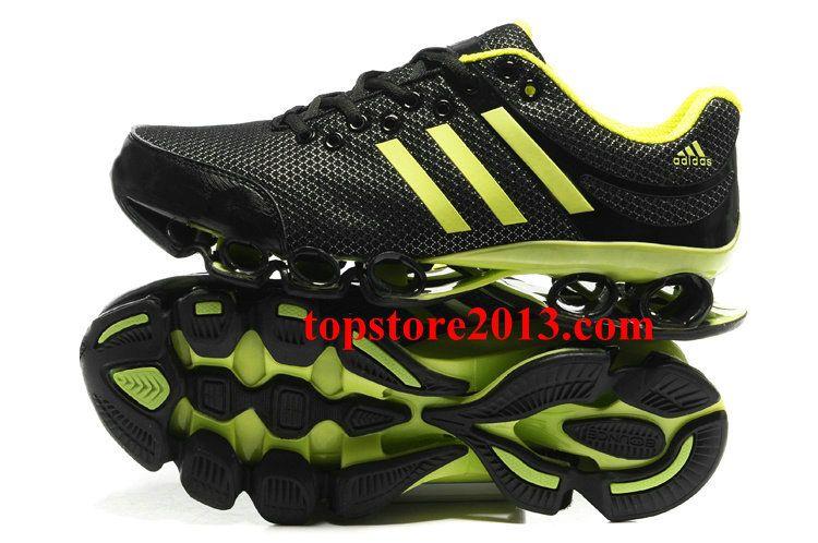 Black � Best Adidas Bounce Titan 2012 Men Black Yellow Running Shoes