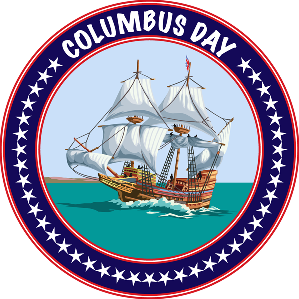 Columbus Day In The Unites States Of America Columbus Day Holiday Columbus Day Columbus Day Sale