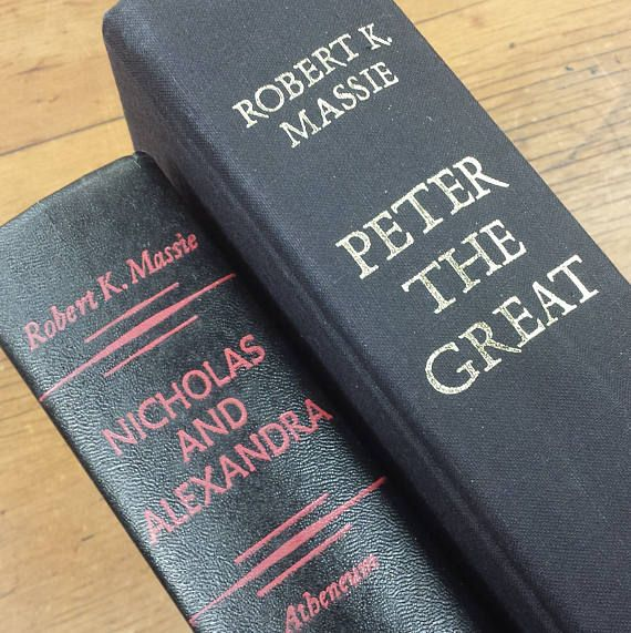 Nicholas And Alexandra Peter The Great By Robert K Massie 1967