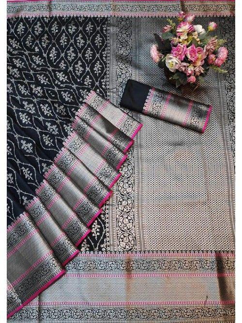 1550 Free Shipping SKU  gnp005760 Banarasi Silk Saree Jacquard With Rich Pallu  1550 Free Shipping SKU  gnp005760 Banarasi Silk Saree Jacquard With Rich Pallu  Visit Now...