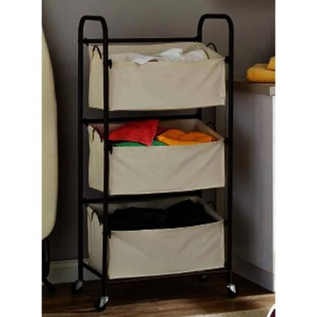 Better Homes And Gardens 3 Bag Vertical Laundry Sorter Walmart Com Laundry Sorter Laundry Room Organization Laundry Room Bathroom