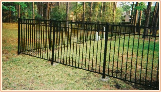 Exotic Wrought Iron Fencing Cost Iron Fence