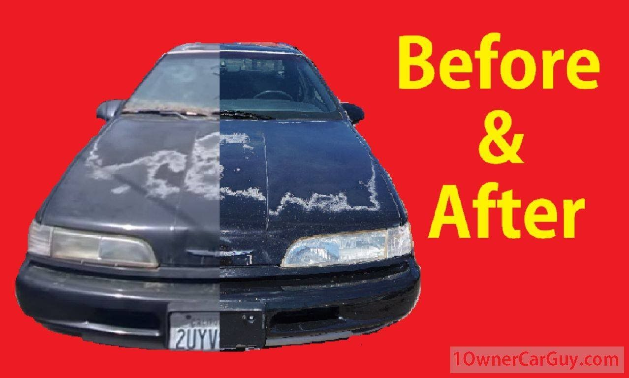 How To Buff Polish Cars Detailing DIY Car Detail Before
