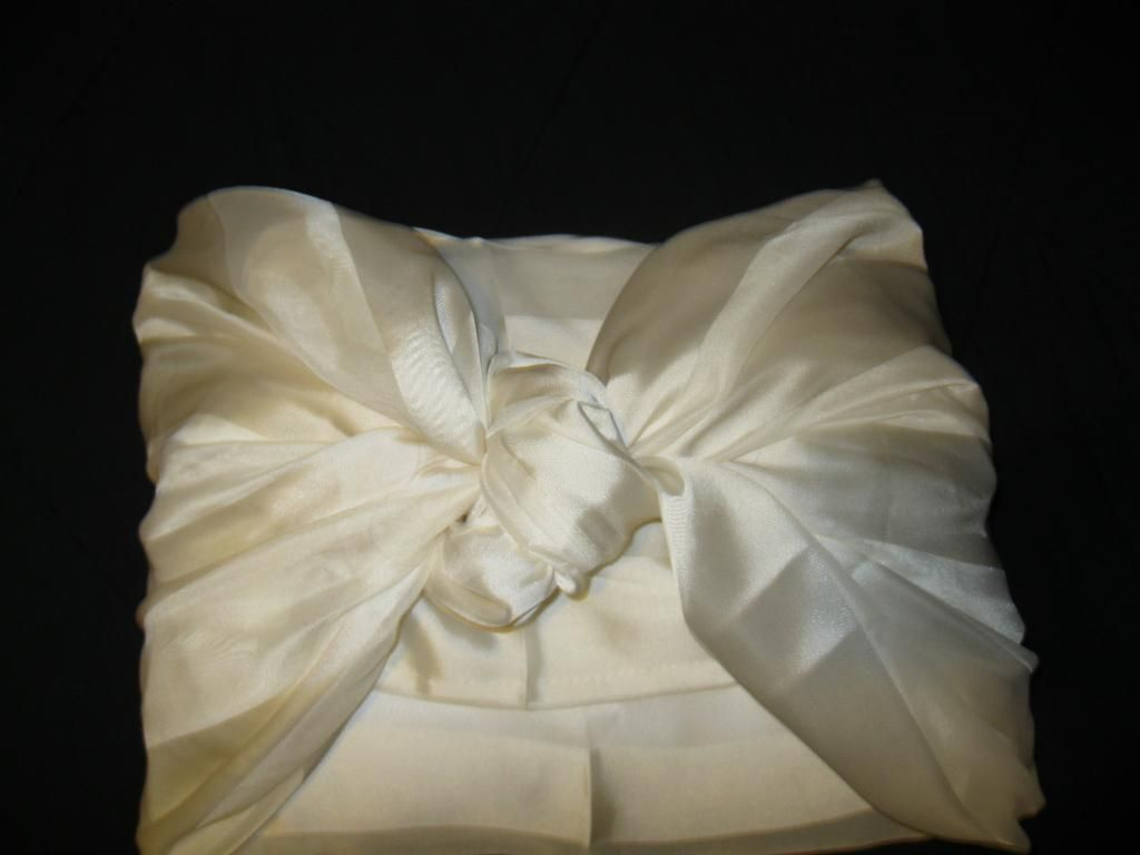 curtain into a pillow cover..