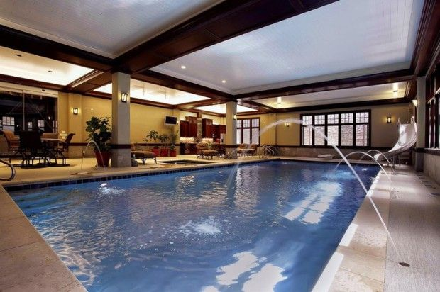 20 Luxury Indoor Swimming Pool Designs For A Delightful Dip -