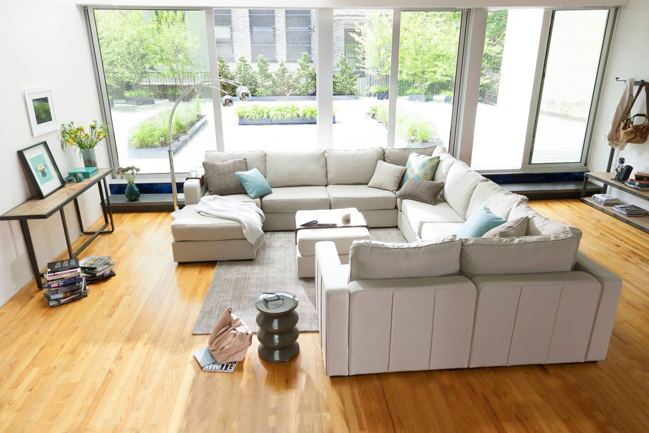 Wrap Around Modular Sectional Couch Modular Living Room