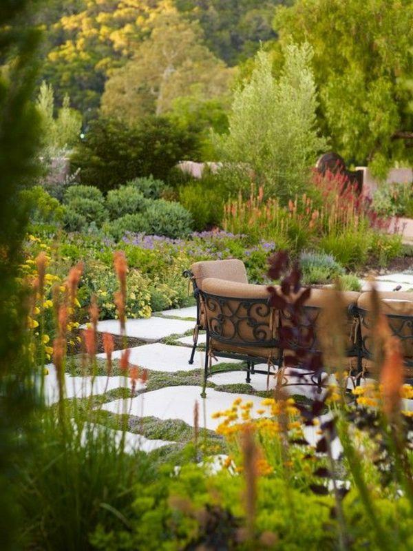 Mediterrane Gartengestaltung   45 Gartenideen Und Gartenmöbel | Mediterrane  Gartengestaltung, Mediterran Und Mittelmeer