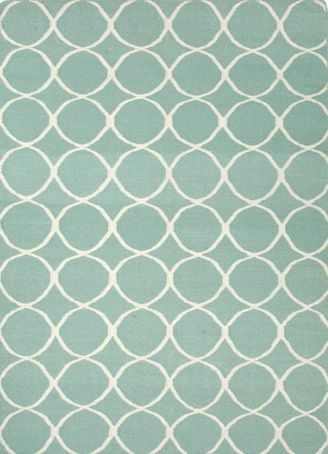 Lillian August Rug Blue Wool Rugs Geometric Pattern Blue Turquoise Rug