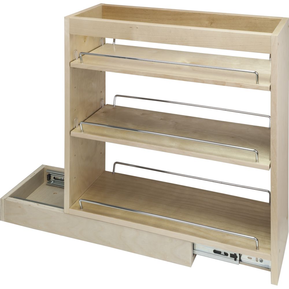 Base Cabinet Pullout. 5\'\' X 21\'\' X 24\'\' Featuring Soft-close Dura ...