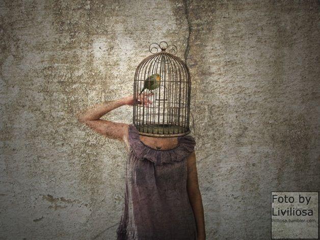 """Farbe - """"Käfig"""" Fine-Art Fotodruck - ein Designerstück von liviliosa-fotoArt bei DaWanda"""