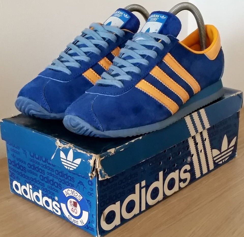 3411d15ba1 French made vintage Adidas Surf, made in 1978 with original box ...