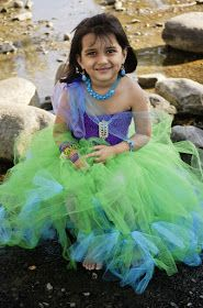 Blooms And Bugs: No Sew Mermaid costume DIY