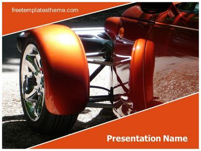 download free classic car powerpoint template for your