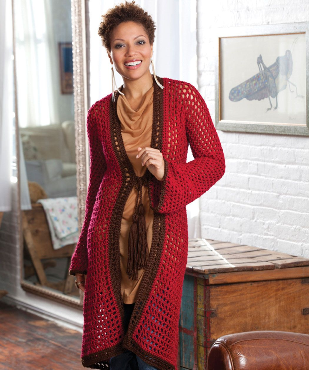Crochet A Long Cardigan That Allows You To Look Ever So